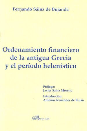 ORDENAMIENTO FINANCIERO DE LA ANTIGUA GRECIA Y EL PERÍODO HELENÍSTICO
