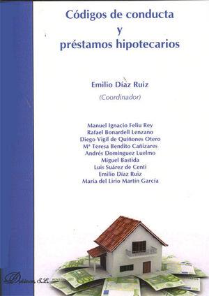 CÓDIGOS DE CONDUCTA Y PRÉSTAMOS HIPOTECARIOS