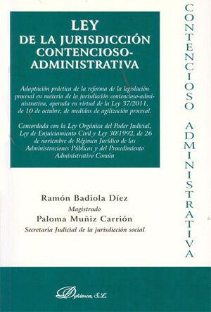 LEY DE LA JURISDICCIÓN CONTENCIOSO-ADMINISTRATIVA