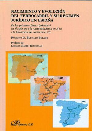 NACIMIENTO Y EVOLUCIÓN DEL FERROCARRIL Y SU RÉGIMEN JURDICO EN ESPAÑA DE LAS PRIMERAS LNEAS (PRIVA
