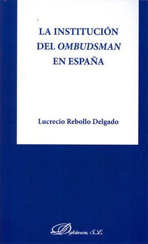 LA INSTITUCIÓN DEL OMBUDSMAN EN ESPAÑA