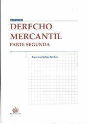 DERECHO MERCANTIL II PARTE SEGUNDA