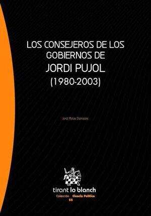 LOS CONSEJEROS DE LOS GOBIERNOS DE JORDI PUJOL (1980-2003)