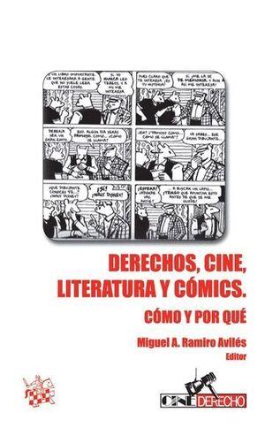 DERECHOS, CINE, LITERATURA Y CÓMICS
