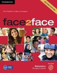FACE2FACE ELEMENTARY PACK SPANISH SPEAKERS WITH KEY STUDENT´S BOOK