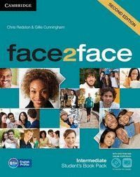 FACE2FACE FOR SPANISH SPEAKERS INTERMEDIATE STUDENT'S PACK (STUDENT'S BOOK WITH DVD-ROM, SPANISH SPEAKERS HANDBOOK WITH CD, WORKBOOK WITH KEY) 2ND EDI