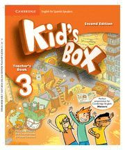 KID'S BOX FOR SPANISH SPEAKERS  LEVEL 3 TEACHER'S BOOK 2ND EDITION