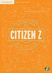 CITIZEN Z B1+ TEACHER'S BOOK