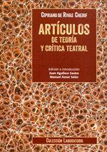 ARTCULOS DE TEORA Y CRTICA TEATRAL