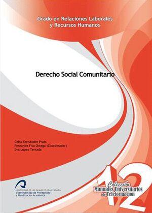 DERECHO SOCIAL COMUNITARIO