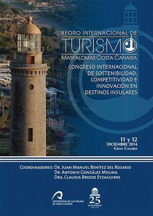 II FORO INTERNACIONAL DE TURISMO MASPALOMAS COSTA CANARIA (FITMCC)