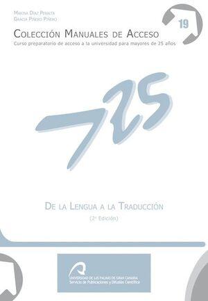 DE LA LENGUA A LA TRADUCCIÓN (2ª EDICIÓN)