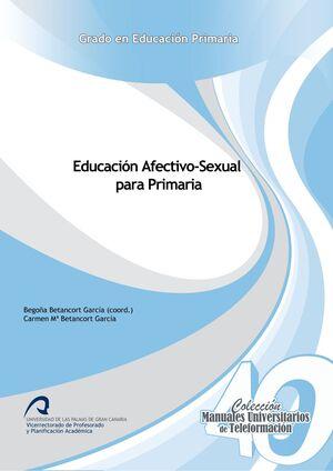 EDUCACIÓN AFECTIVO-SEXUAL PARA PRIMARIA