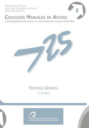 HISTORIA GENERAL (3ª EDICIÓN)