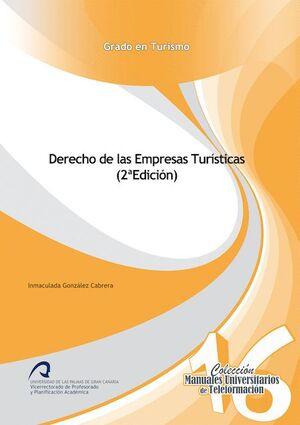 DERECHO DE LAS EMPRESAS TURÍSTICAS (2ª EDICIÓN)
