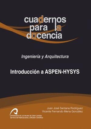 INTRODUCCIÓN A ASPEN-HYSYS