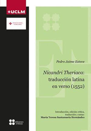 NICANDRI THERIACA: TRADUCCIÓN LATINA EN VERSO (1552)