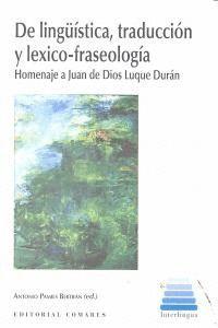 DE LINGUISTICA TRADUCCION Y LEXICO FRASEOLOGIA