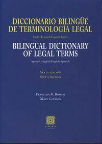 DICCIONARIO BILINGÜE DE TERMINOLOGA LEGAL (INGLÉS-ESPAÑOL / ESPAÑOL-INGLÉS) INGLES-ESPAÑOL/ESPAÑOL-