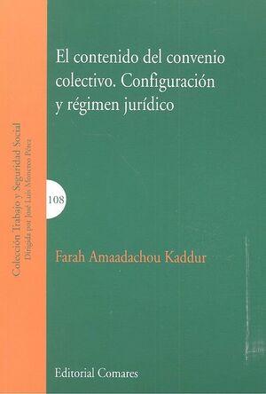 EL CONTENIDO DEL CONVENIO COLECTIVO