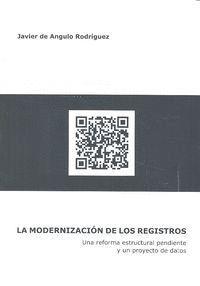 MODERNIZACIÓN TECNOLÓGICA DE LOS REGISTROS