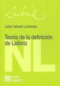 TEORÍA DE LA DEFINICIÓN DE LEIBNIZ