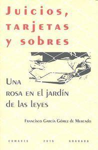 JUICIOS, TARJETAS Y SOBRES