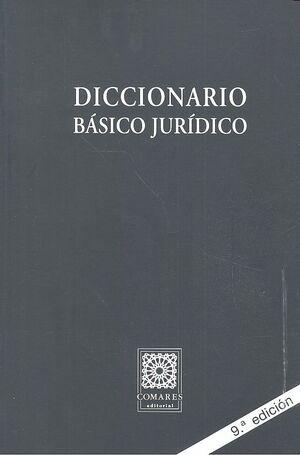 DICCIONARIO BÁSICO JURÍDICO