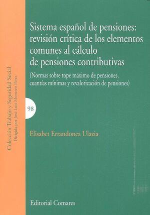 SISTEMA ESPAÑOL DE PENSIONES