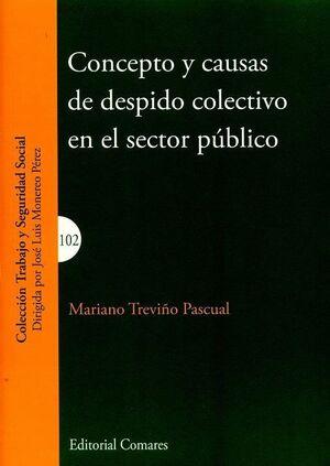 CONCEPTO Y CAUSAS DE DESPIDO COLECTIVO EN EL SECTOR PÚBLICO
