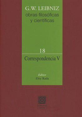 CORRESPONDENCIA V (VOL. 18)
