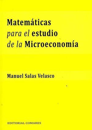 MATEMÁTICAS PARA EL ESTUDIO DE LA MICROECONOMÍA