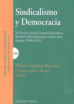 SINDICALISMO Y DEMOCRACIA
