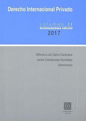 DERECHO INTERNACIONAL PRIVADO - VOLUMEN II