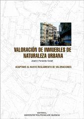 VALORACIÓN DE INMUEBLES DE NATURALEZA URBANA