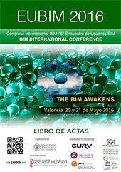 EUBIM 2016. 5º CONGRESO INTERNACIONAL BIM. ENCUENTRO DE USUARIOS BIM
