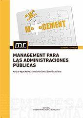 MANAGEMENT PARA LAS ADMINISTRACIONES PÚBLICAS