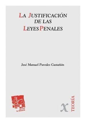 LA JUSTIFICACIÓN DE LAS LEYES PENALES