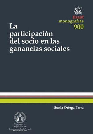 LA PARTICIPACIÓN DEL SOCIO EN LAS GANANCIAS SOCIALES