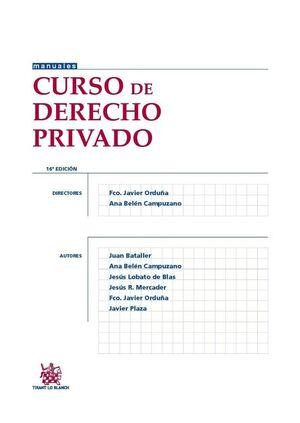 CURSO DE DERECHO PRIVADO
