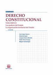 DERECHO CONSTITUCIONAL VOL.II