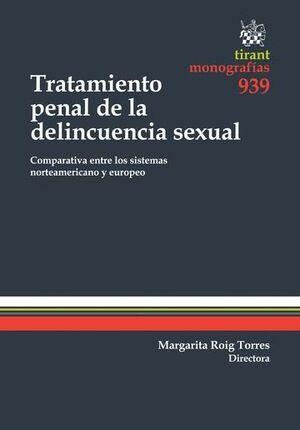 TRATAMIENTO PENAL DE LA DELINCUENCIA SEXUAL