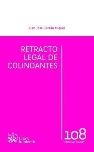 RETRACTO LEGAL DE COLINDANTES
