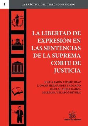 LA LIBERTAD DE EXPRESIÓN EN LAS SENTENCIAS DE LA SUPREMA CORTE DE JUSTICIA