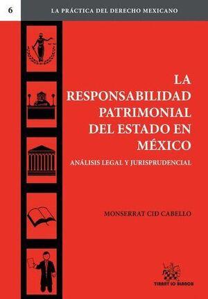 LA RESPONSABILIDAD PATRIMONIAL DEL ESTADO EN MÉXICO