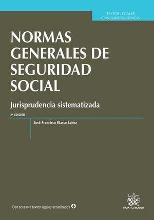 NORMAS GENERALES DE SEGURIDAD SOCIAL