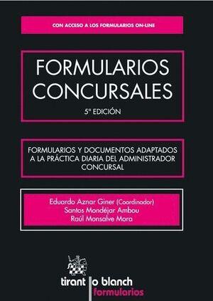 FORMULARIOS CONCURSALES
