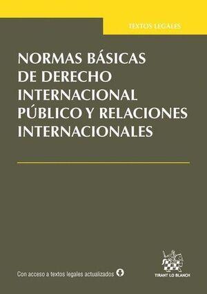 NORMAS BÁSICAS DE DERECHO INTERNACIONAL PÚBLICO Y RELACIONES INTERNACIONALES