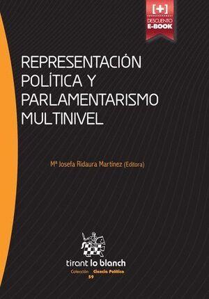 REPRESENTACIÓN POLTICA Y PARLAMENTARISMO MULTINIVEL