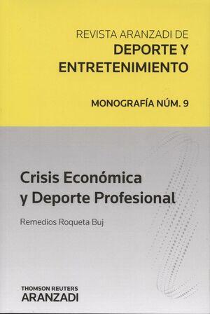 CRISIS ECONÓMICA Y DEPORTE PROFESIONAL